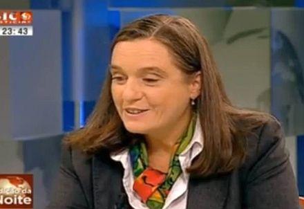 Isabel Jonet na sua entrevista à Sic Notícias, a 6 de Novembro de 2012