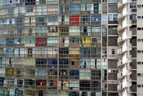 O complexo habitacional Copan, da autoria de Niemeyer