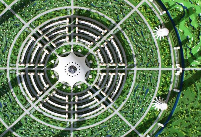 A cidade ideal do Projeto Venus