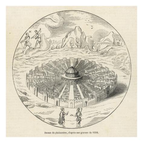 A Cidade do Sol, de Campanella, é um exemplo do urbanismo utópico, onde o simbolo ancestral do Sol representa a natureza da cidade perfeita
