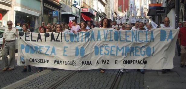 O Conselho Português para a Paz e Cooperação é um dos grupos anti-imperialistas mais ativos em Portugal