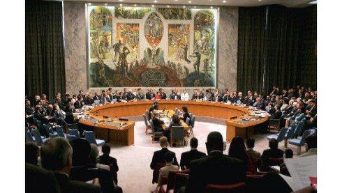 O Conselho de 'Segurança' da ONU à volta de uma mesa