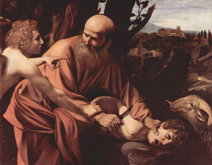 'Sacrificio de Isaac' de Caravaggio