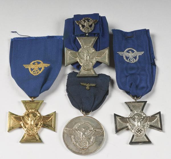 Algumas medalhas Nazis