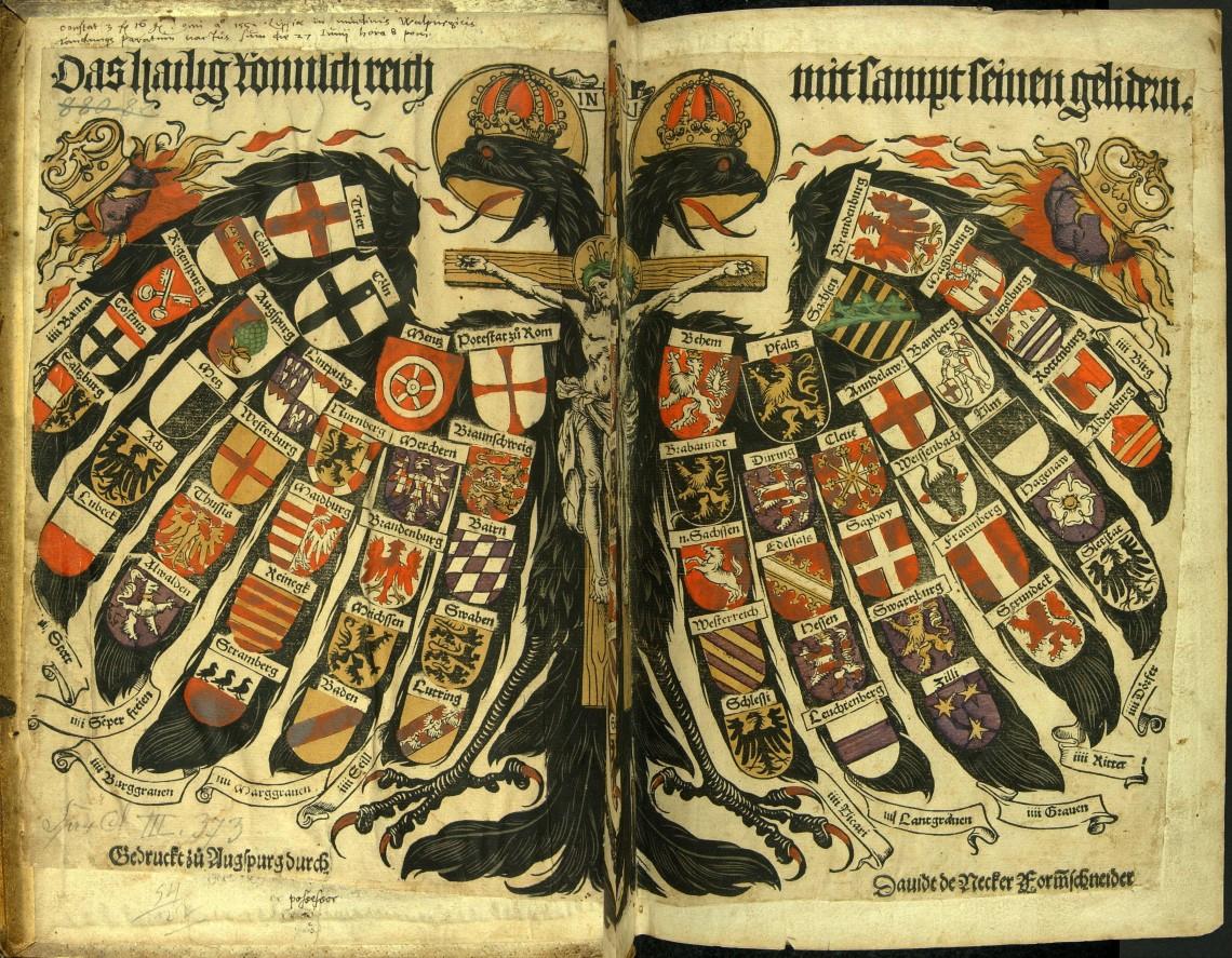 Símbolo do Sagrado Império Romano, o 1º Reich