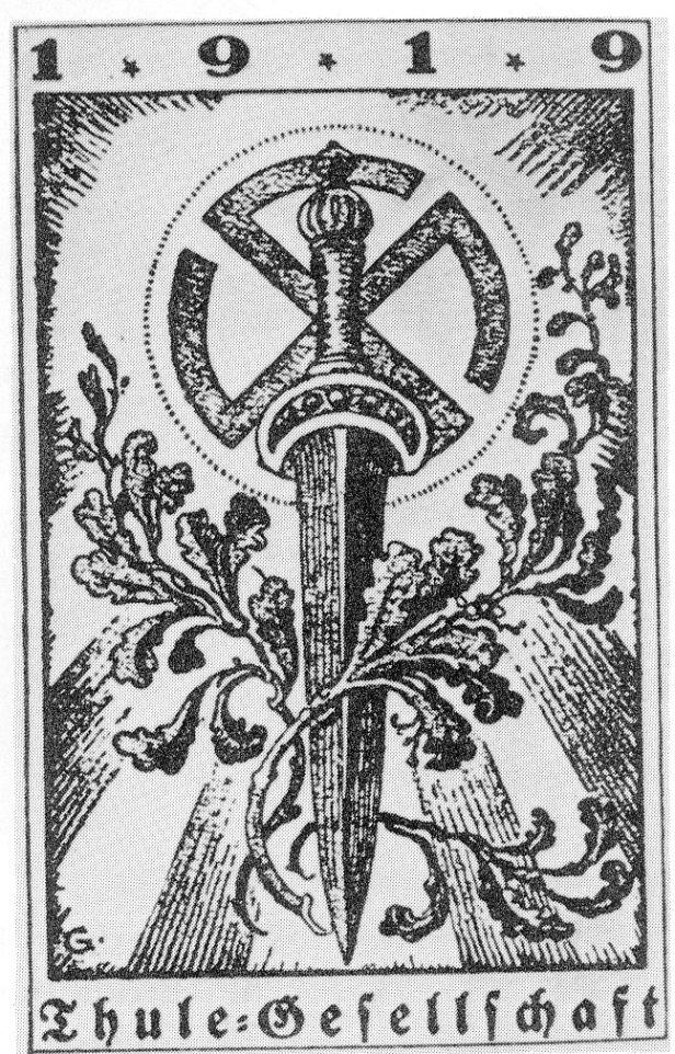 Símbolo da Sociedade Thule, da qual vários Nazis faziam parte