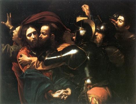 'A Captura de Cristo', um quadro de 1602 de Caravaggio representando o preso político mais famoso de todos os Tempos, Jesus, que a paz esteja com ele |1|