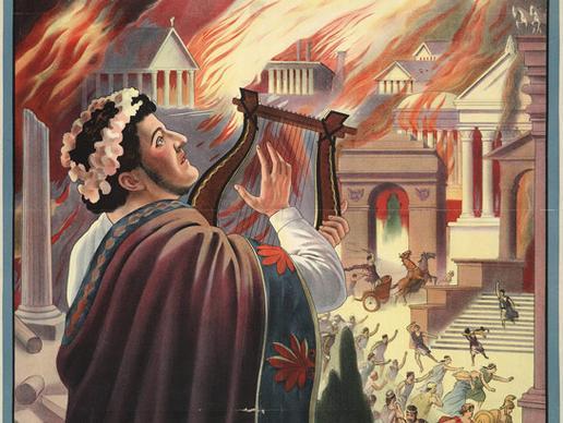 Nero toca Harpa