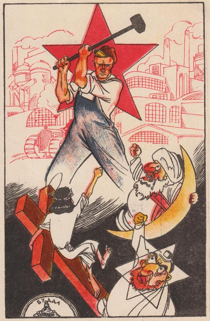 Communist anti-religious propaganda